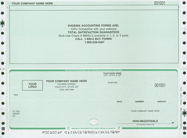 fake check stub template free